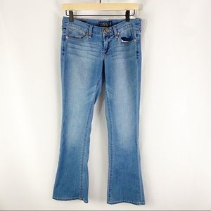 Lucky Brand Charlie Baby Boot Jeans Blue Size 2/26